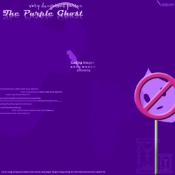 the purple ghost
